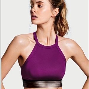 Victoria's Secret Purple High Neck Sports Bra